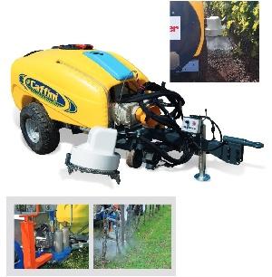 GRASS KILLER - Machine pour le desherbage entre rangée avec de l'eau